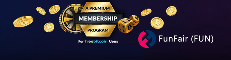freebitcoin premium membership fun token